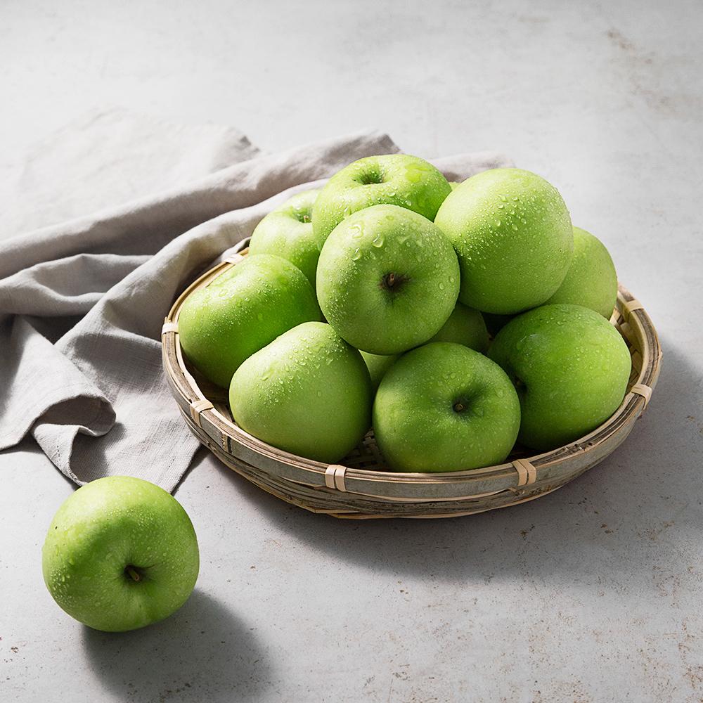 풍기 아오리 사과, 2kg(9~12입), 1박스