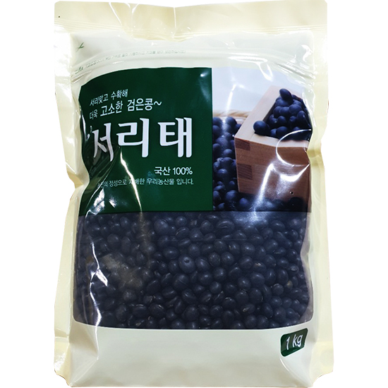 월드그린 고소한 검은콩 서리태, 1kg, 1개