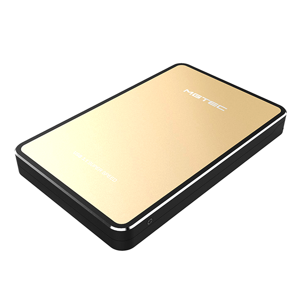 엠지텍 3.1B 외장하드, 4TB, 골드