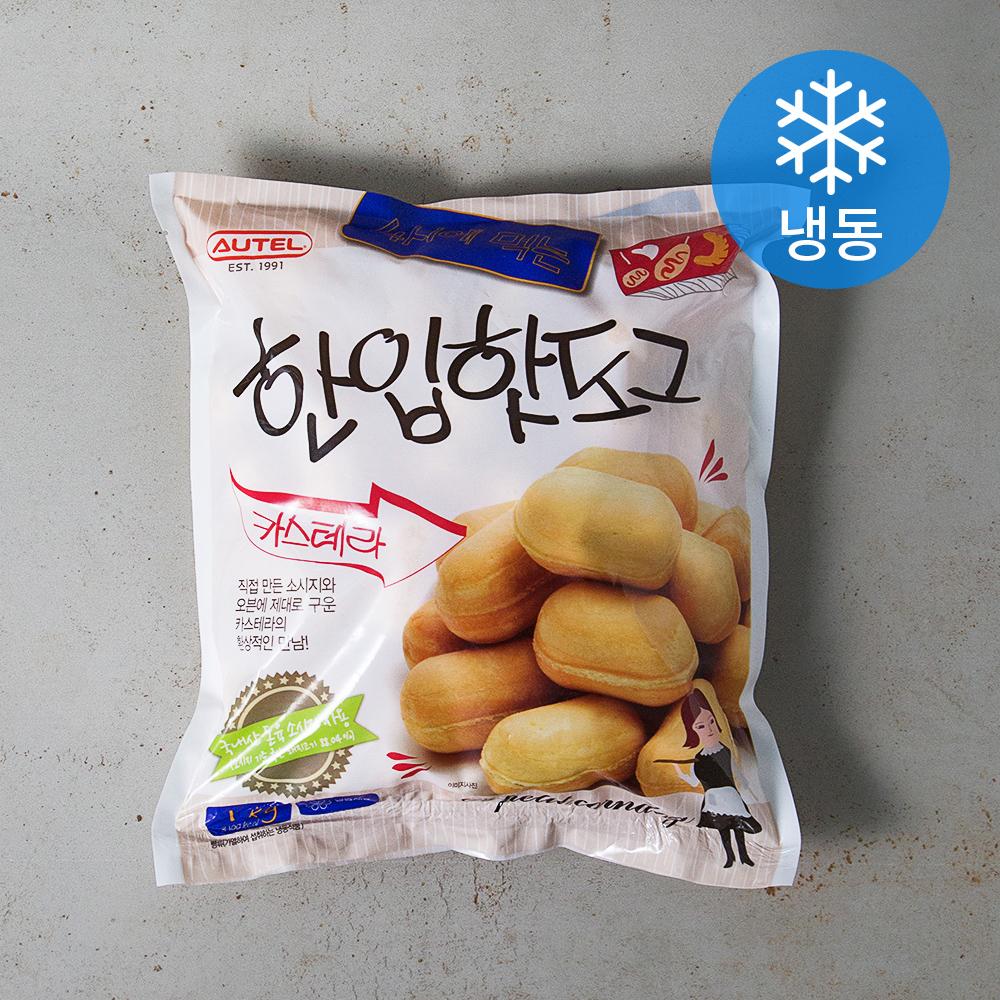 오뗄 카스테라 한입핫도그 (냉동), 1kg, 1개