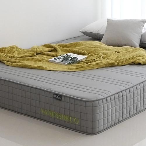코자자 침대 메모리폼 수면 매트리스, 단일 색상