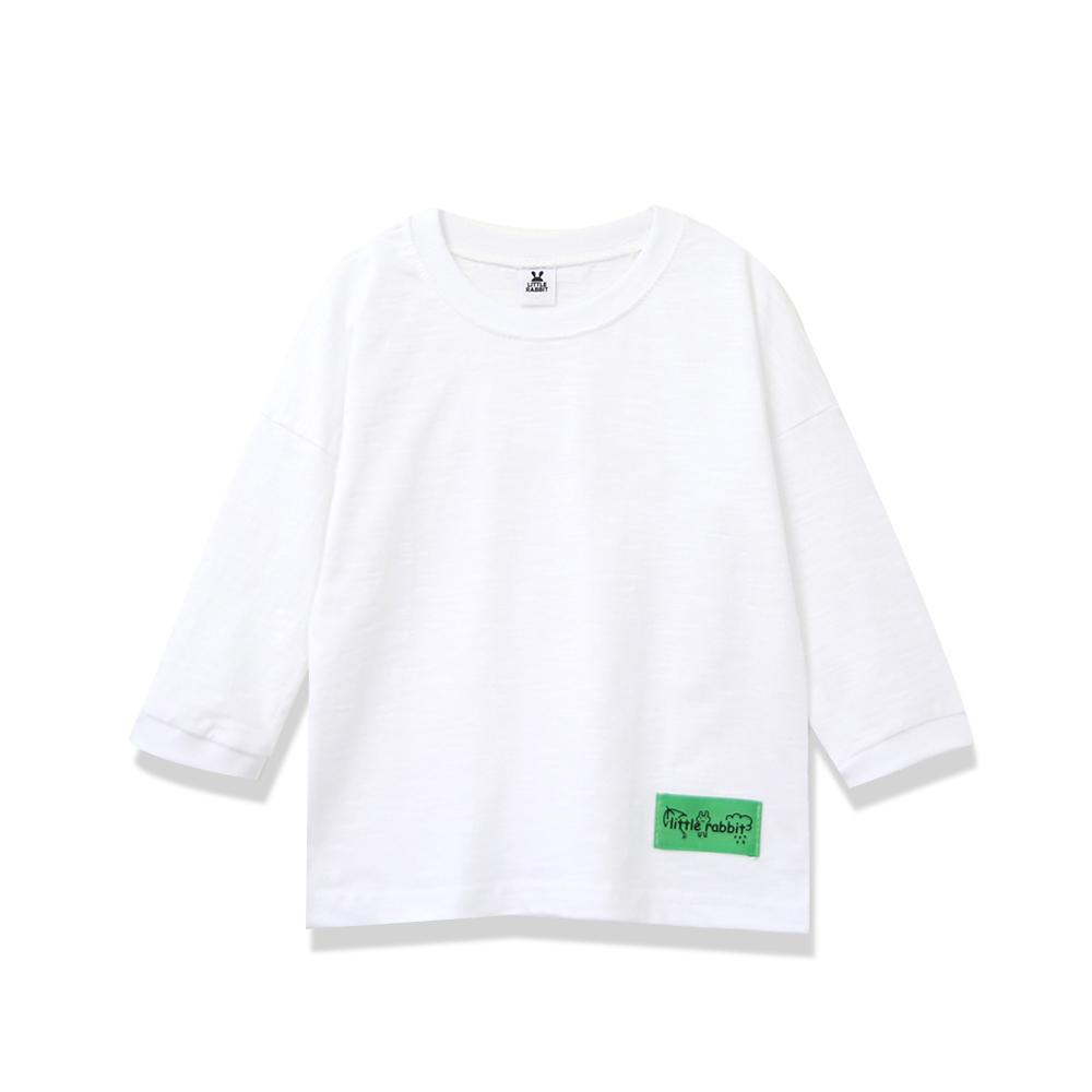 골든래빗 아동용 긴팔 모닝패치 티셔츠