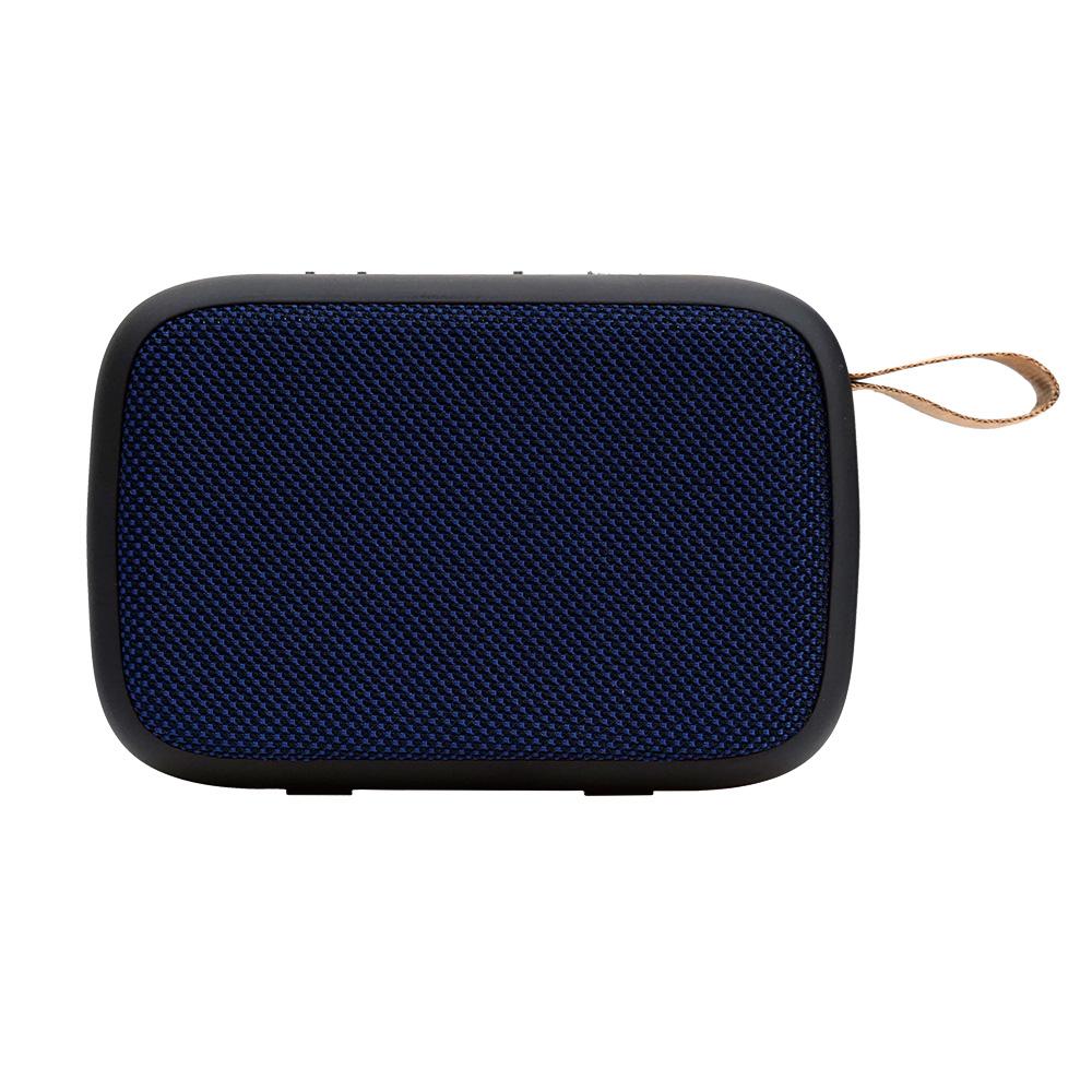 로이체 컴팩트 듀얼드라이브 휴대용 블루투스 스피커, BTS-240, 블루