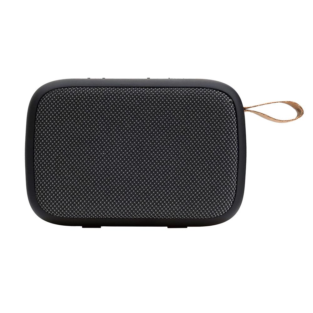 로이체 컴팩트 듀얼드라이브 휴대용 블루투스 스피커, BTS-240, 그레이