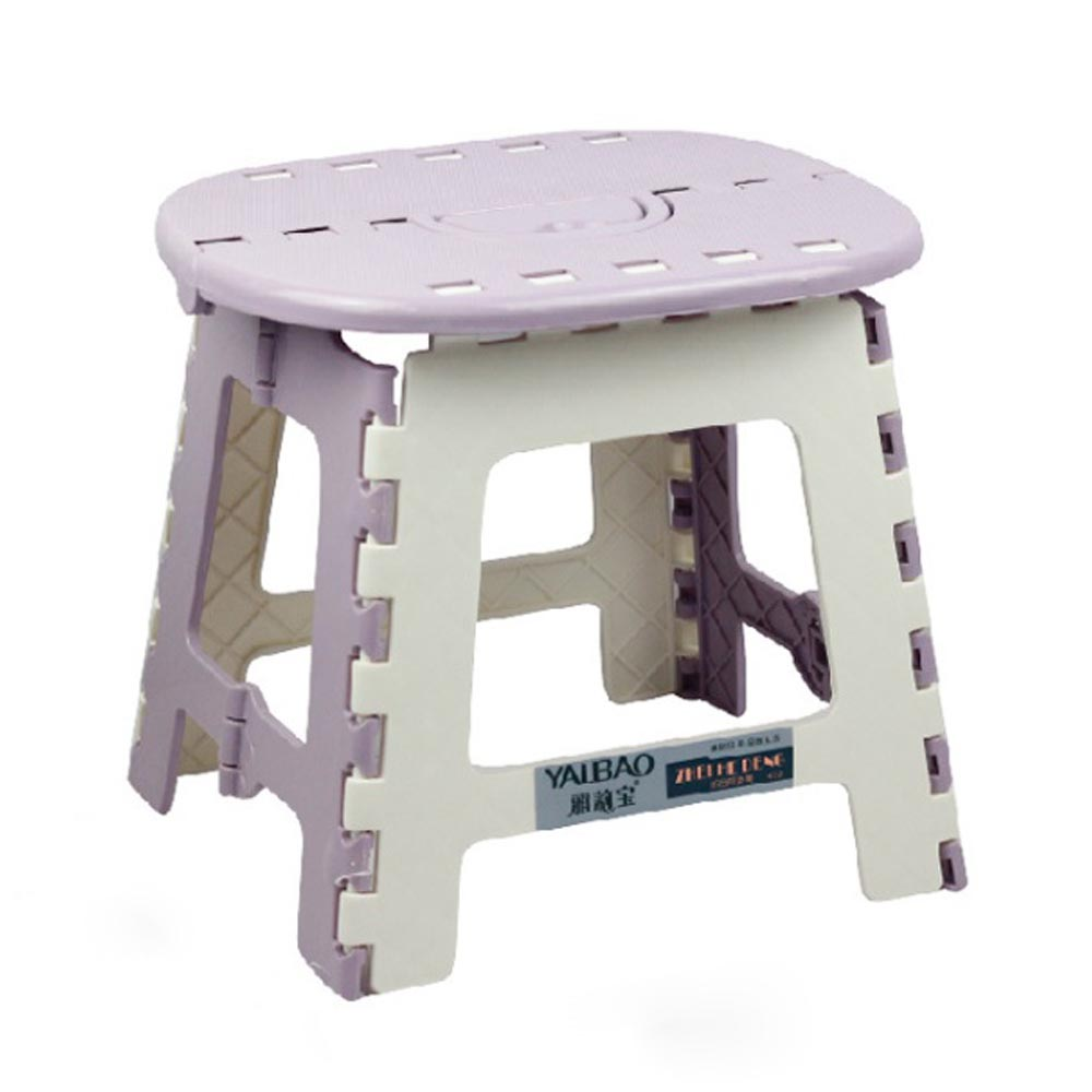 TREE 스툴스 타원 접이식 의자 S, 퍼플