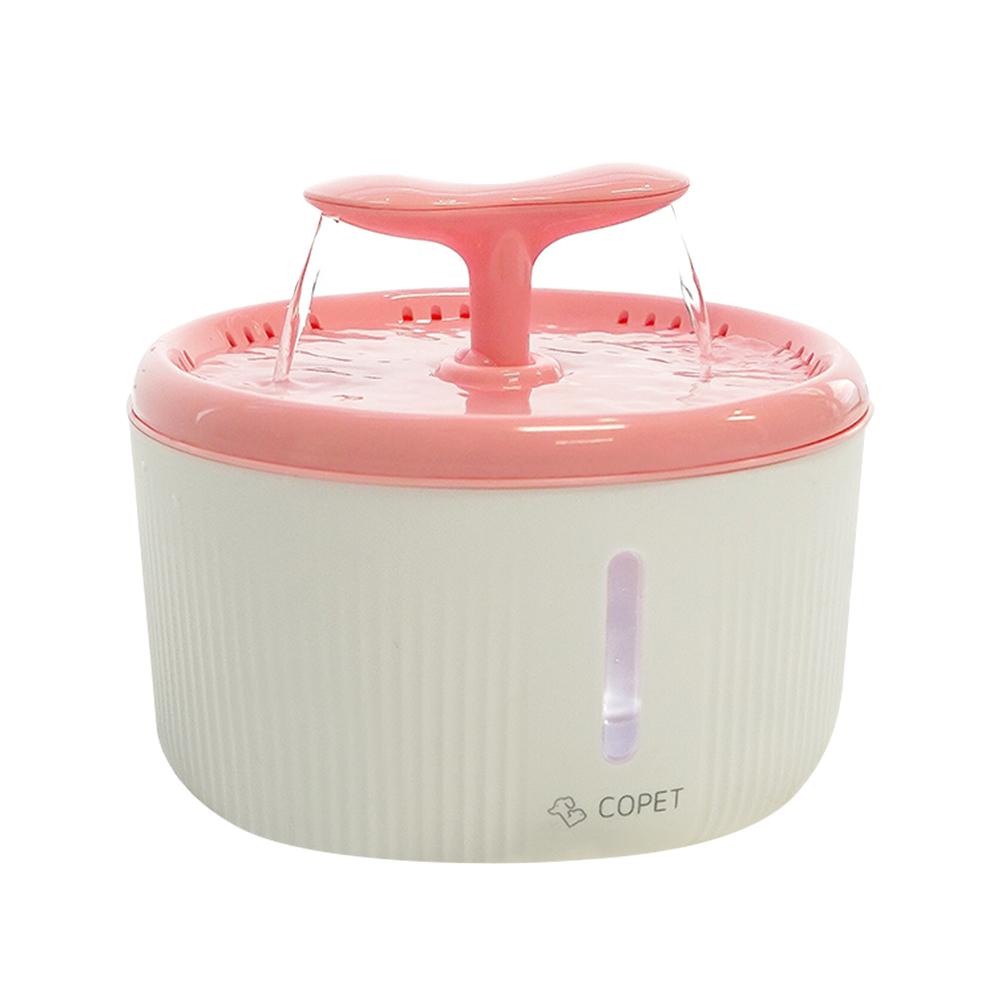 코펫 반려동물 반려견 정수기 2L, 핑크, 1개
