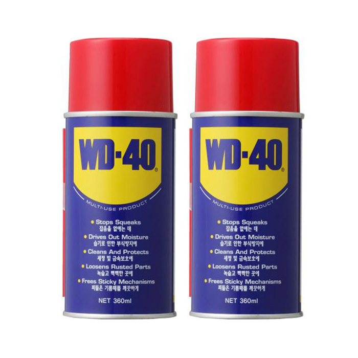WD40 방청제 360ml, 2개