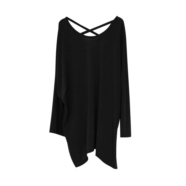 마른파이브 여성용 루즈핏 긴팔 티셔츠
