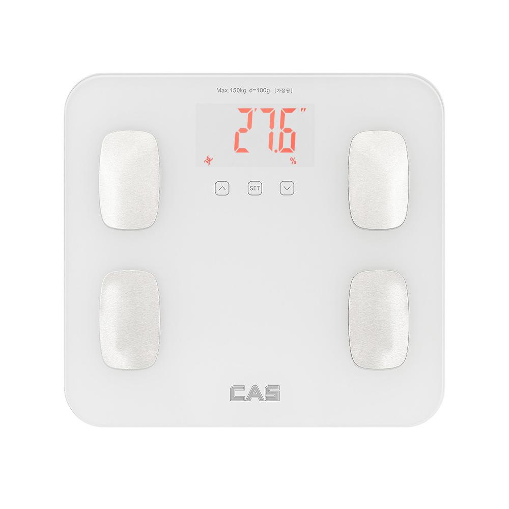 카스 가정용 체지방 측정 체중계, BFA-15, 슈퍼화이트