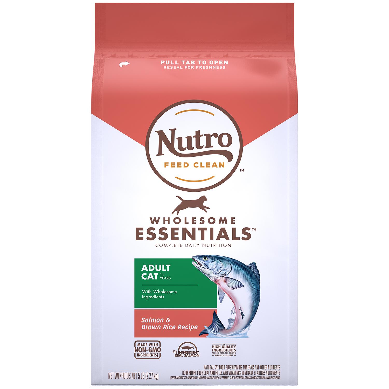 뉴트로 캣 1세이상 연어와 현미 사료, 2.27kg, 1개