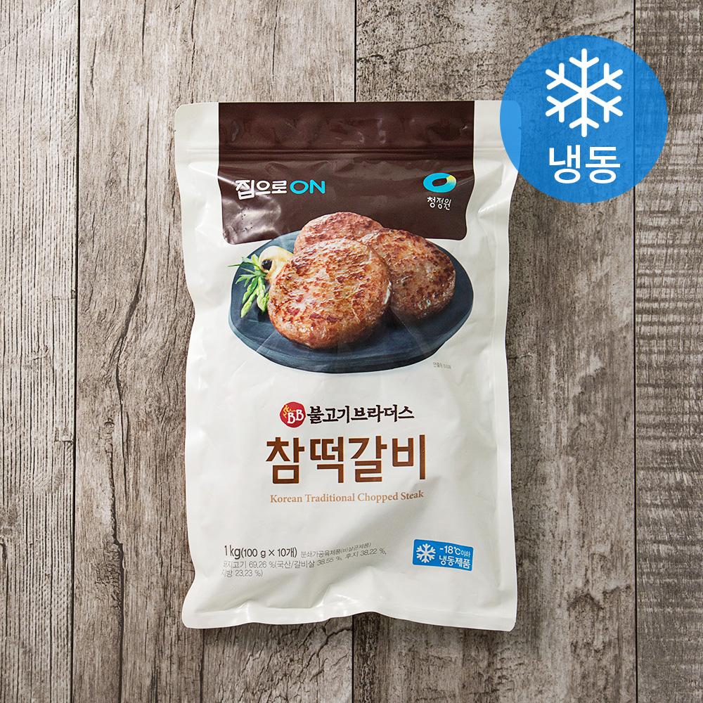 집으로온 불고기브라더스 참떡갈비 (냉동), 1kg, 1개