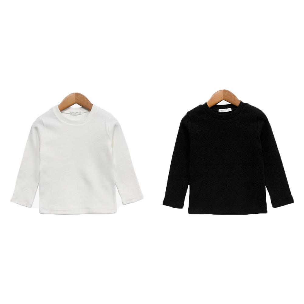 로리앤콜린 아동용 소프트 베이직 티셔츠 2종