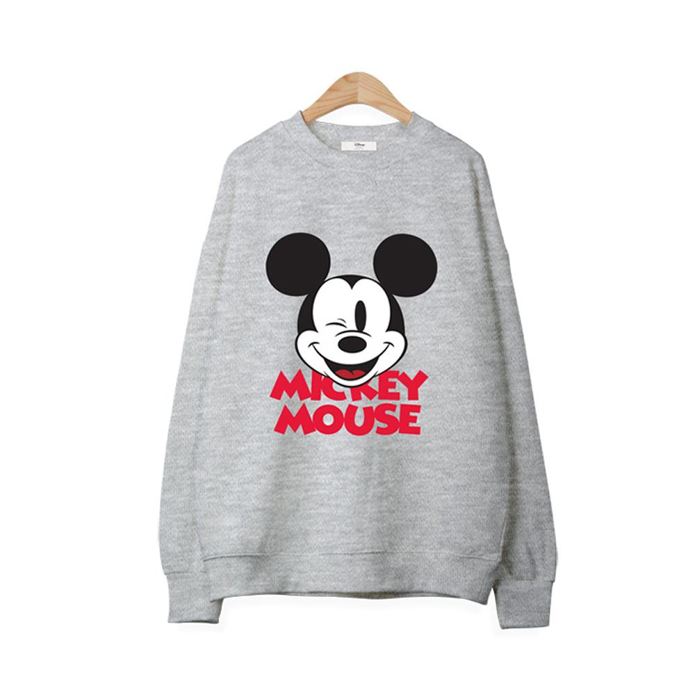 디즈니 오버핏 맨투맨 티셔츠 RTN543