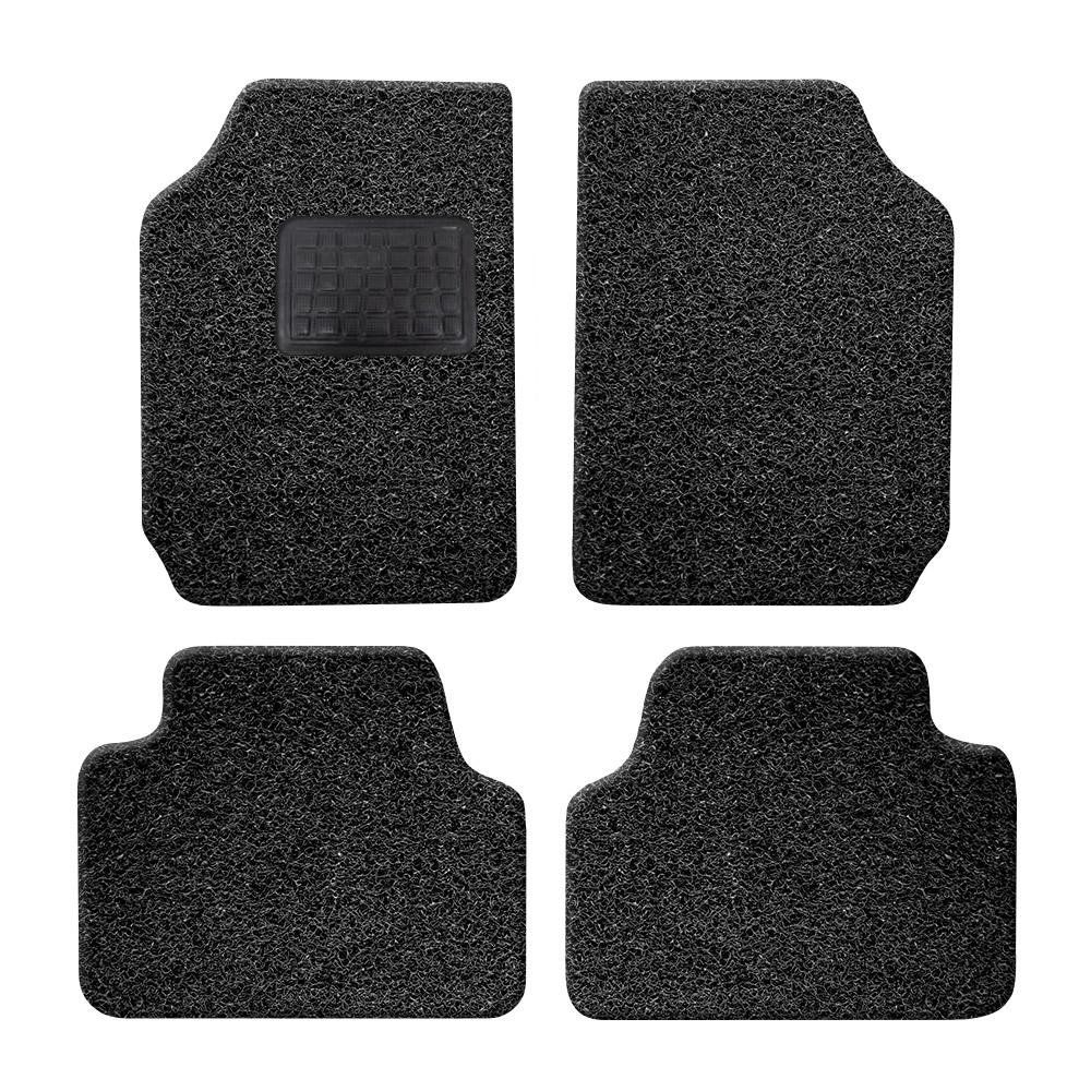 순수 DIY 자동차 코일매트 20mm 올블랙 4p 세트, 전차종 공용