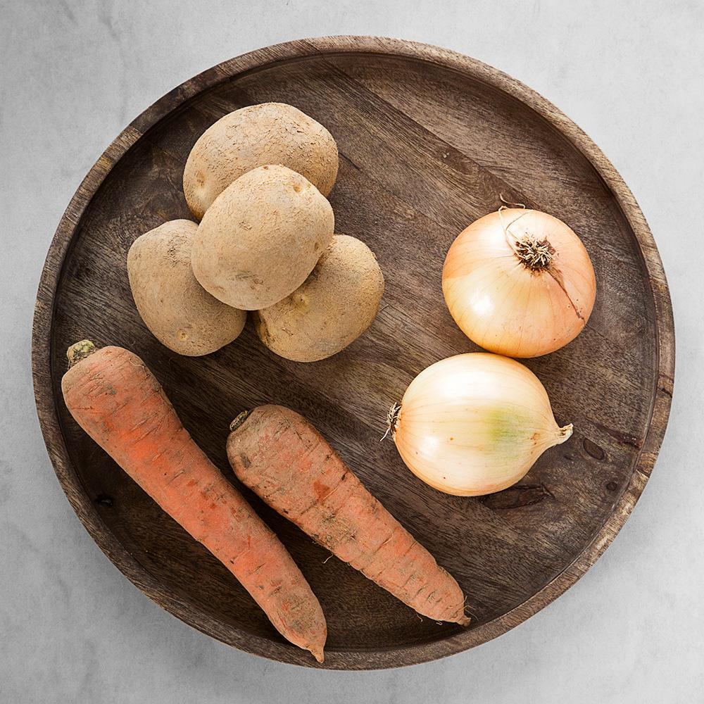 친환경 인증 국내산 감자&당근&양파, 1.2kg, 1봉