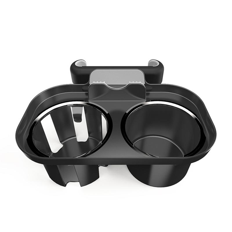 카템 헤드레스트 & 송풍구 컵홀더 & 스마트폰 거치대 블랙, 1개