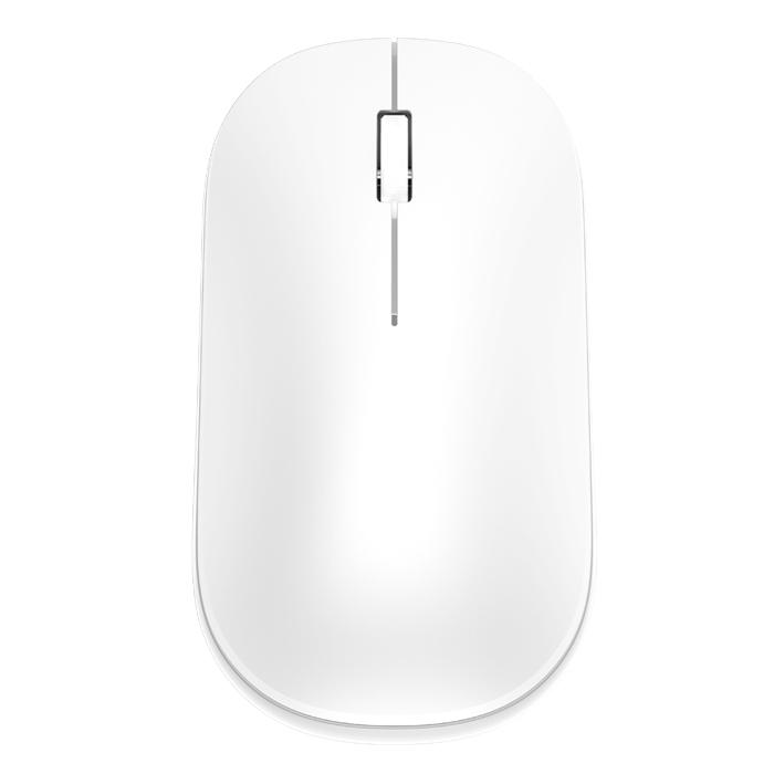 앱코 BEETLE 사무용 노트북 저소음 무선 마우스, 화이트