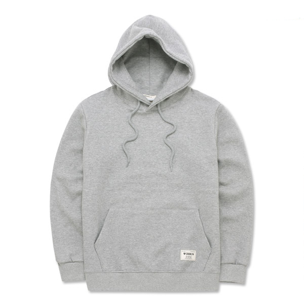 크루클린 무지 기모 후드 티셔츠 HRL600