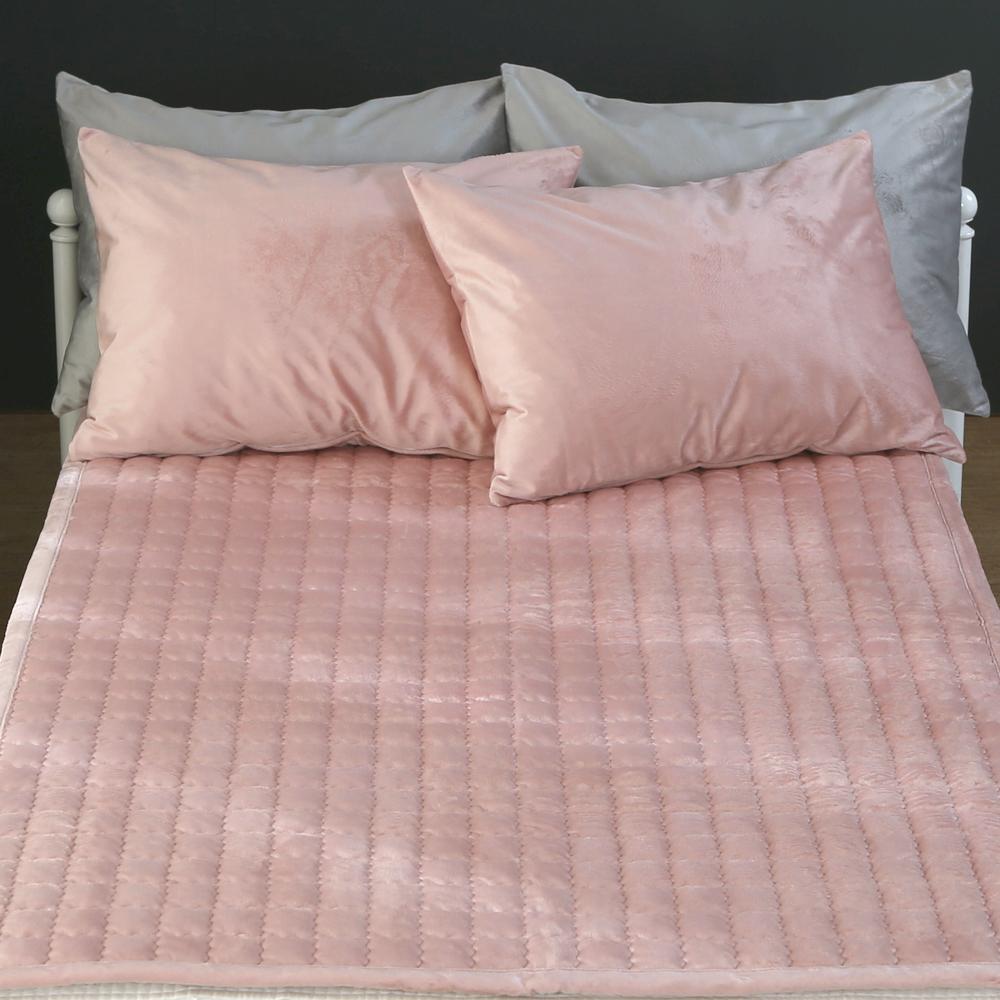 지베딩 루이 극세사 패드겸카페트, 핑크