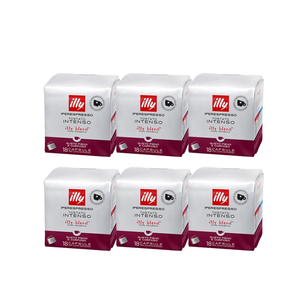 일리 다크 인텐소 에스프레소 캡슐 커피, 25ml, 108개