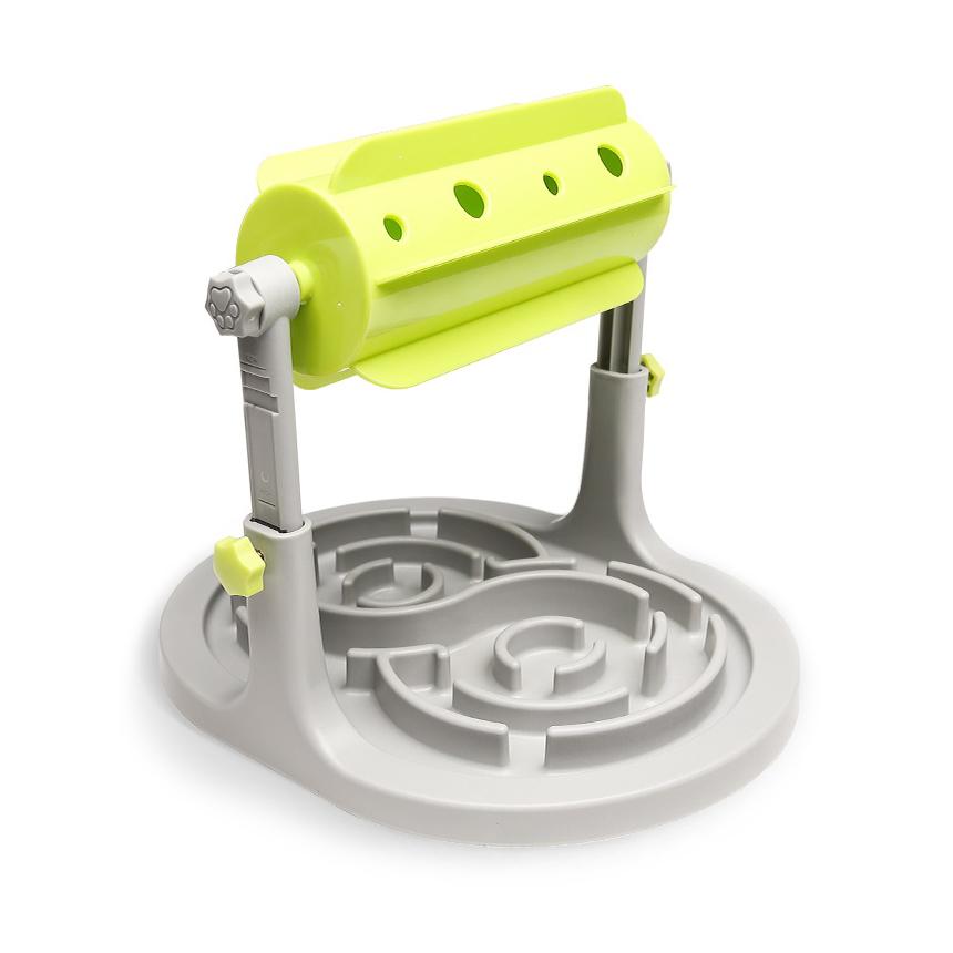 펫트너스 강아지 노즈워크 돌돌이 분리불안 장난감 24 x 32 x 18~25 cm, 혼합 색상, 1개