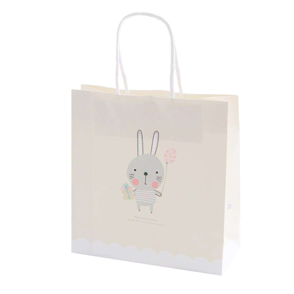 봄91 샤이니프렌즈 종이쇼핑백 12p, 혼합 색상