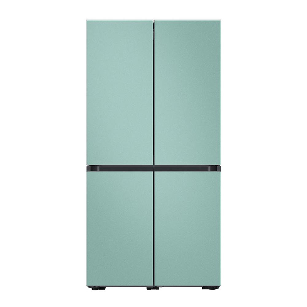 삼성전자 비스포크 냉장고 RF85R901302 871L 방문설치 RF85R901302코타 민트