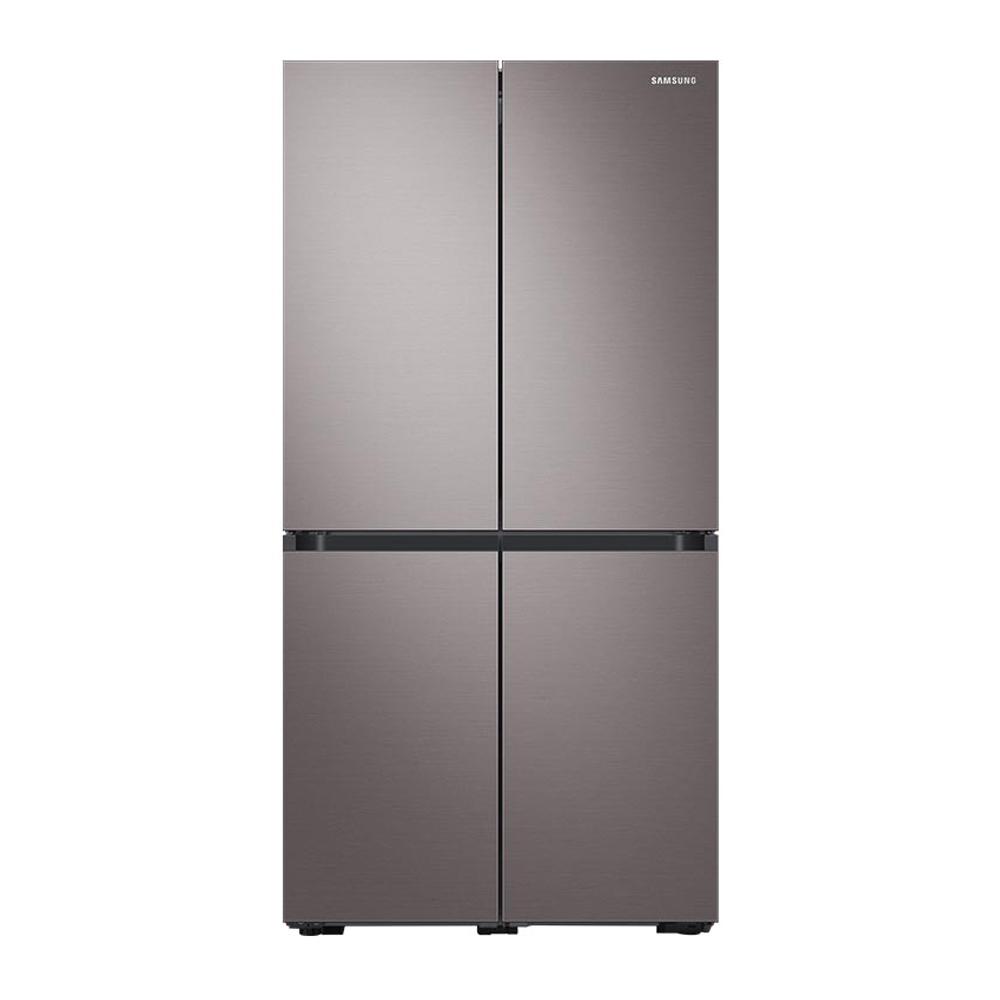삼성전자 비스포크 프리스탠딩 냉장고 RF85T9013T1 871L 방문설치, RF85T9013T1(브라우니쉬 실버)