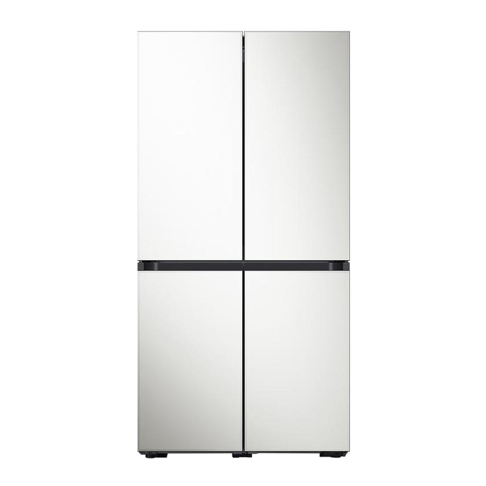 삼성전자 비스포크 냉장고 RF85R901335 871L 방문설치, RF85R901335(글램 화이트)