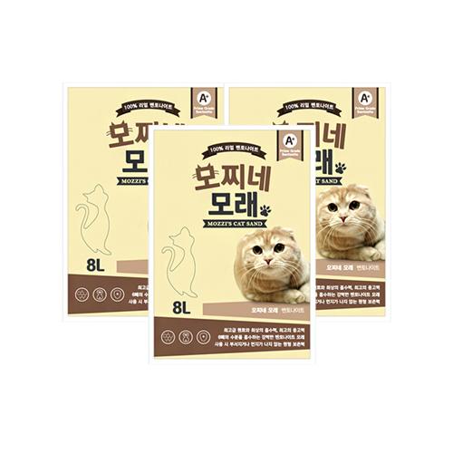 모찌네 고양이 모래, 8L, 3개