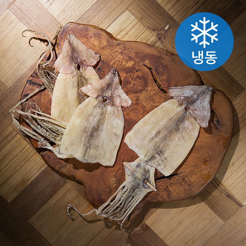 포항시 인증 구룡포 건오징어 대 3미 (냉동), 240g, 1개