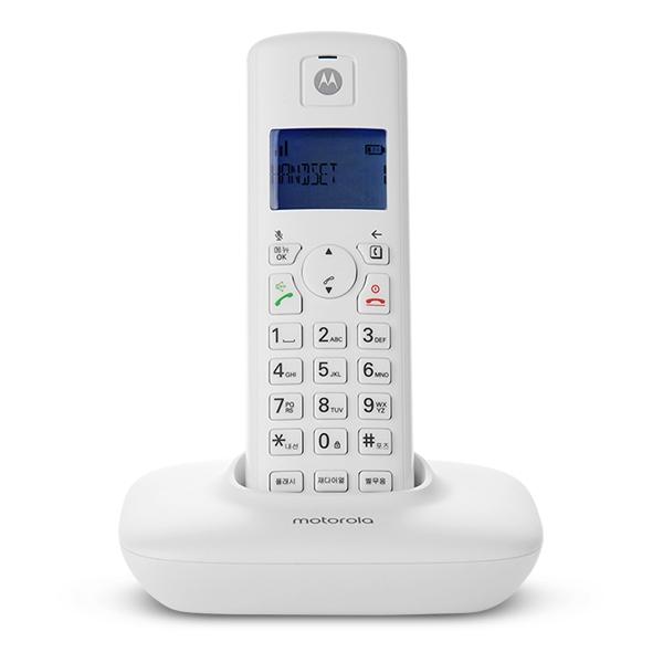 모토로라 무선 전화기 T401A+, T401A+(화이트)