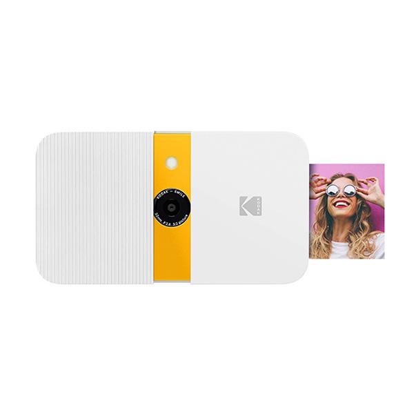 코닥 스마일 디지털 즉석카메라 화이트 + 옐로우, RODSMCAM, 1개