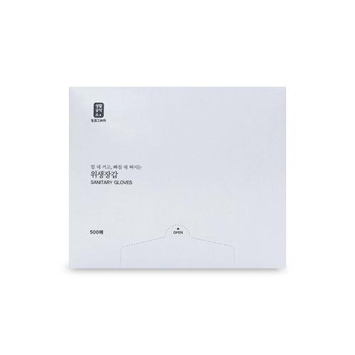 생활공작소 위생장갑 500매, 1개
