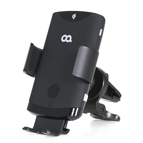 오아 와이더F2 자동 센서 차량용 핸드폰 고속 무선 충전 거치대 OACG034 블랙 1p