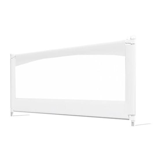 유아 침대가드 슬라이딩 150cm, 화이트