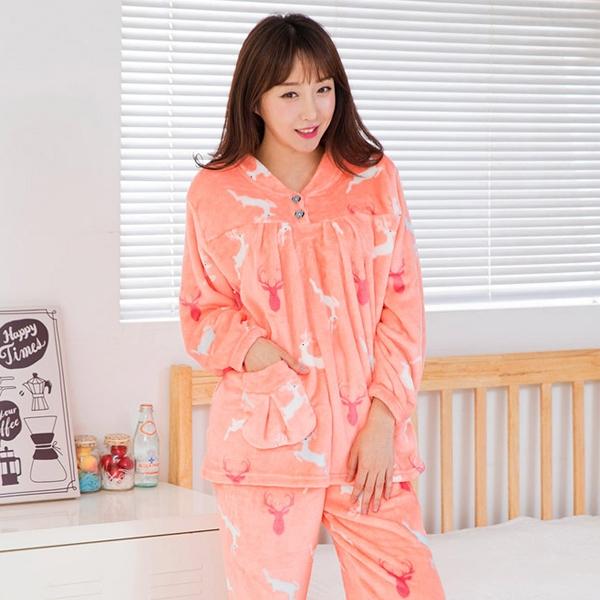 씨엘스토리 여성용 유니콘 수면 잠옷세트