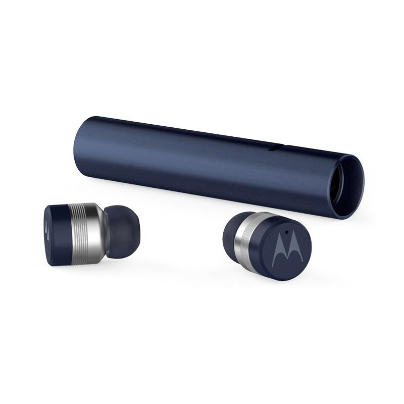 모토로라 버브버즈 300 블루투스 이어폰, 단일 상품, Navy Blue