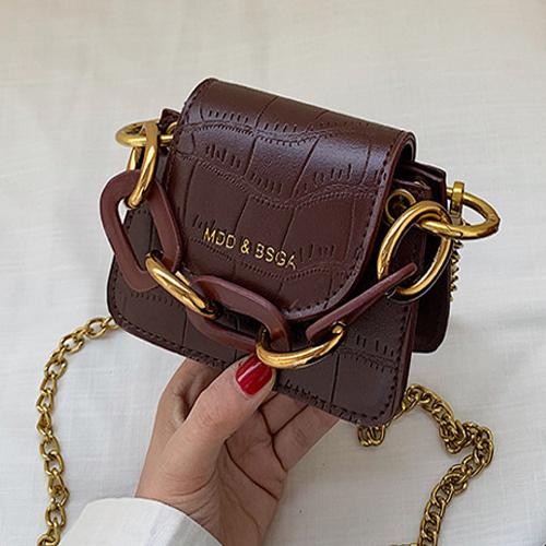 올나인 와일드 체인 핸드백