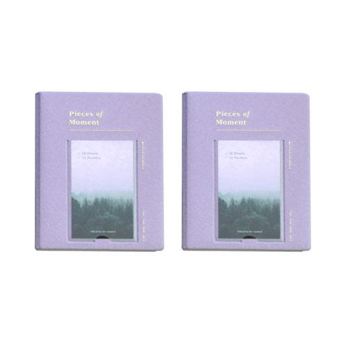 아이코닉 마이폴라로이드 v.4 미니앨범 2p, LAVENDER, 18매
