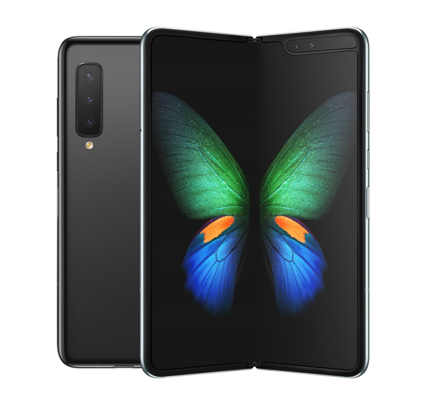 삼성전자 갤럭시 폴드 5G 휴대폰 SM-F907N, 공기계, 코스모스 블랙, 512GB