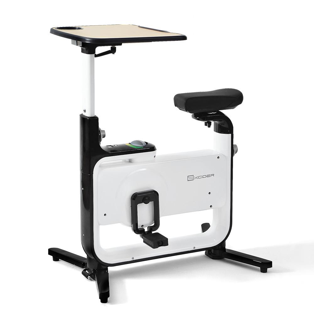 엑사이더 테이블 실내자전거, EX950T, 화이트 + 블랙