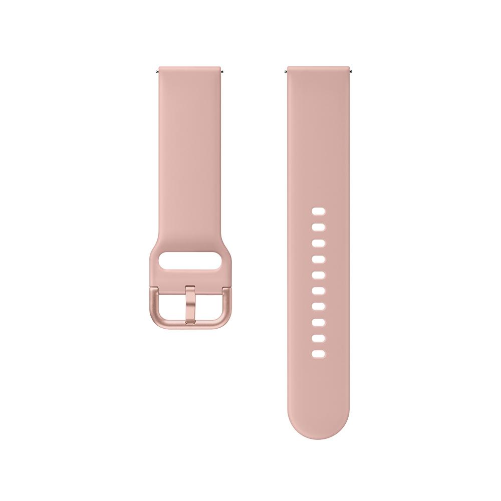 삼성전자 갤럭시 액티브 1/2/워치3 20mm 스포츠 스트랩 ET-SFR82 (40/41/42mm 호환 가능), 핑크, 1개
