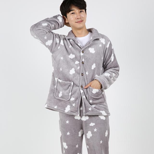 도씨 남성용 커플 수면잠옷 상하세트 D9204