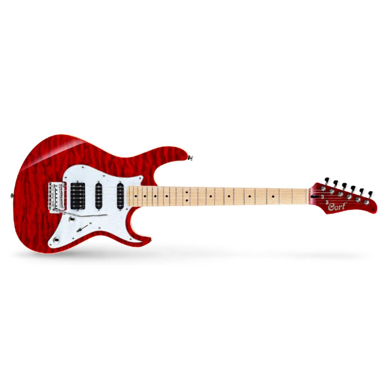 콜트 일렉트릭 기타, G250DX, Trans Red