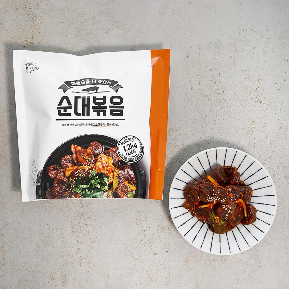 려강 매콤달콤 순대볶음, 1.2kg, 1개