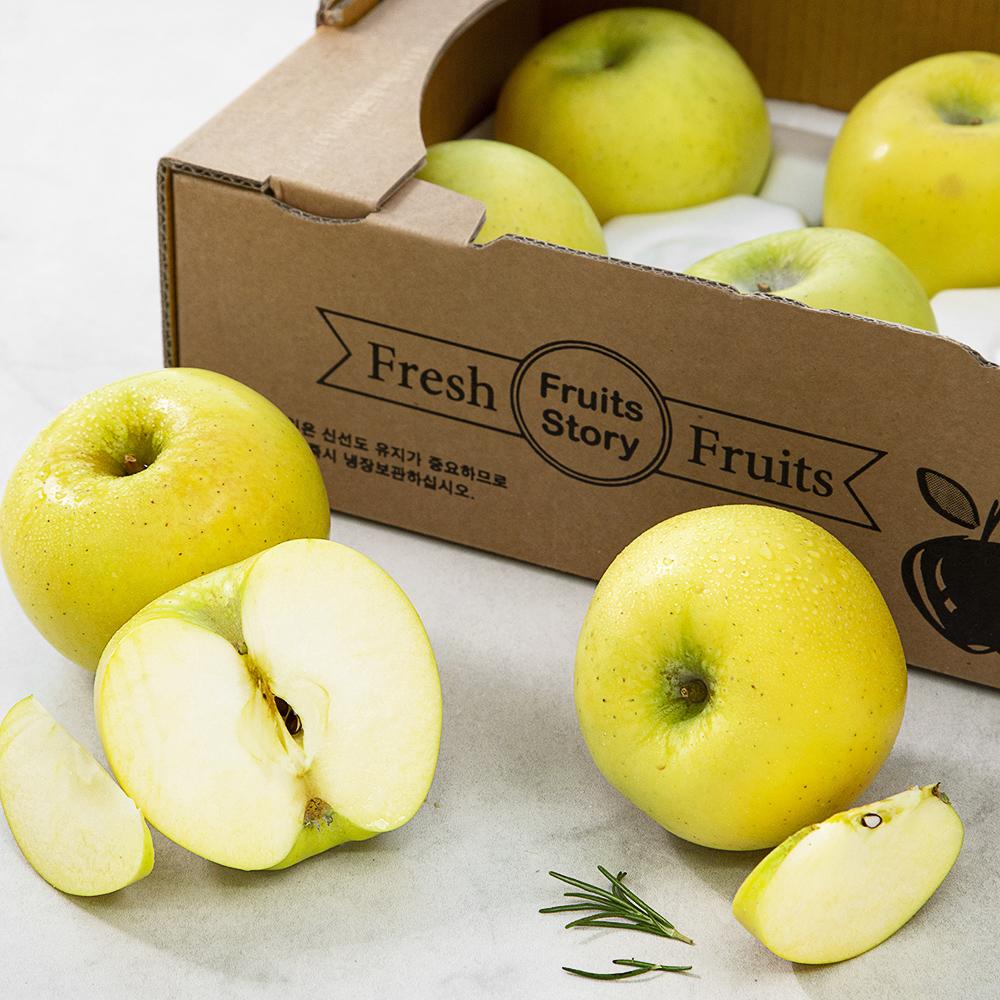 시나노골드 사과, 2kg (특 6~8입), 1박스