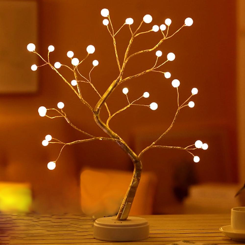행복한마을 크리스마스 LED펄진주 네온트리, 혼합 색상