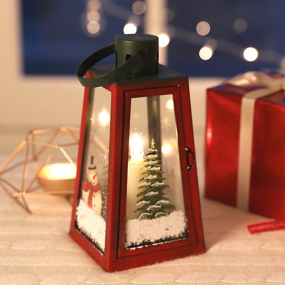 행복한마을 크리스마스 LED 라이트하우스, 혼합 색상