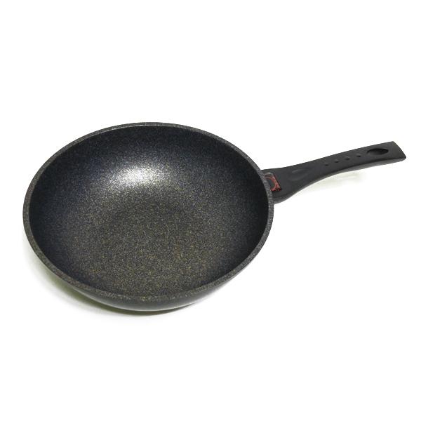 키친아트 열센서 통주물 양면마블 궁중팬, 28cm, 1개